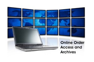 Online Order Access and Archives